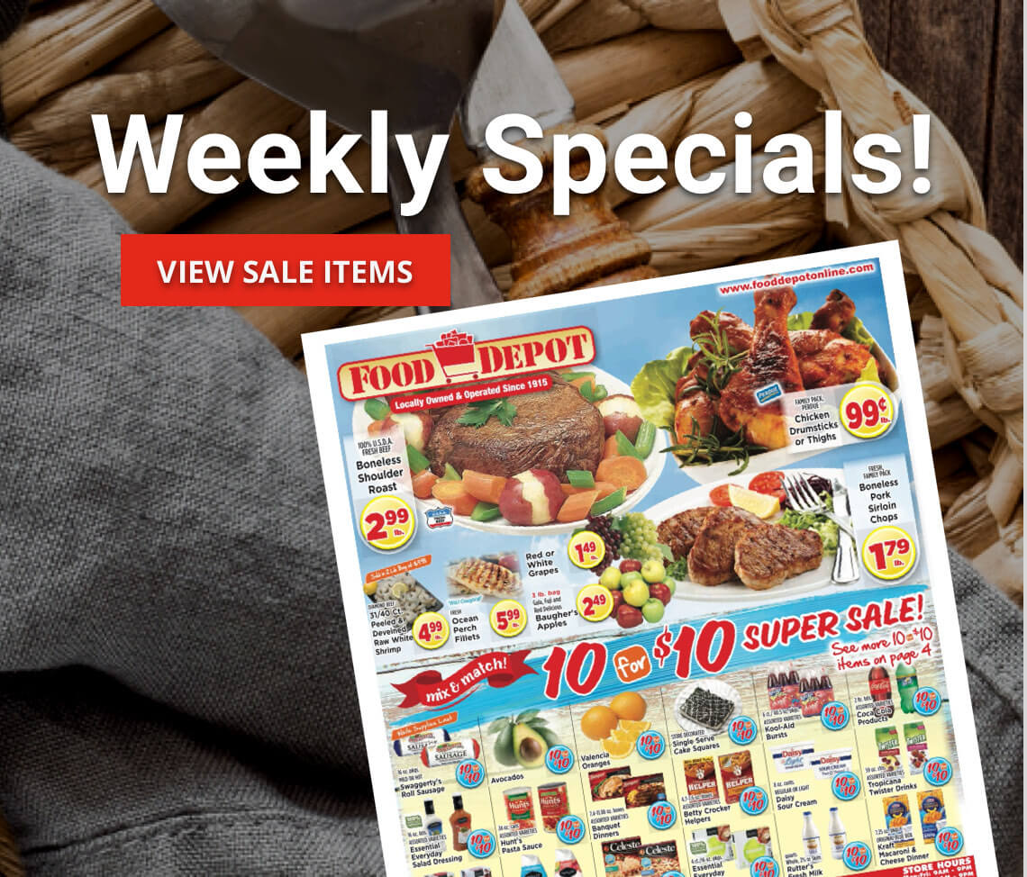 View Weekly Specials